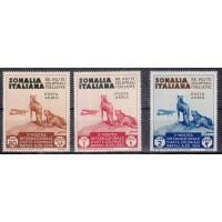 Italie- Somalie - numéro PA4/6 - Neuf avec charnière