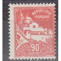 Algérie - numéro 81 - Neuf avec charnière