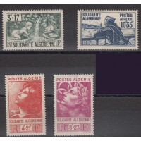 Algérie - numéro 249/52 - Neuf avec charnière
