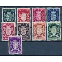 Belgique - numéro 583/92 - neuf avec charnière