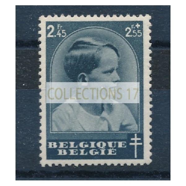 Belgique - numéro 445 - neuf avec charnière