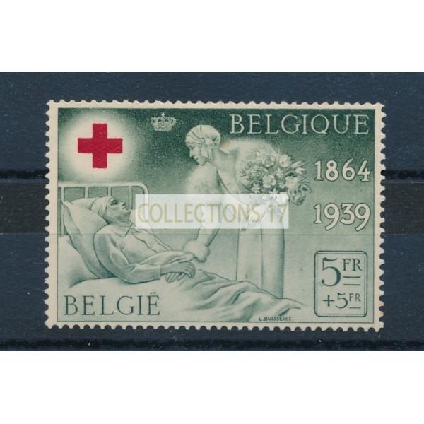Belgique - numéro 503 - neuf avec charnière