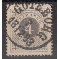 Suède - numéro 17a - oblitéré