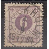 Suède - numéro 19a - oblitéré