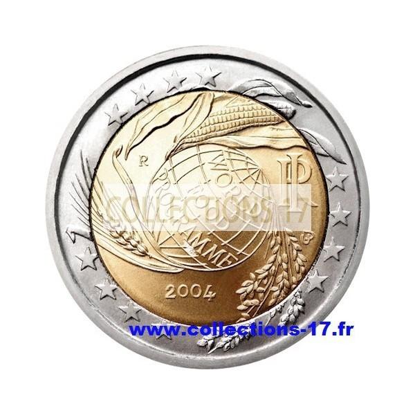 2 €uros Italie 2004