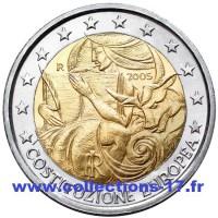 2 €uros Italie 2005 (UNC Sortie de Rouleau)