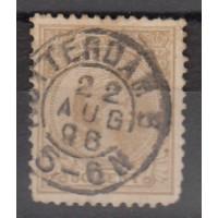 Pays-Bas - numéro 43a - oblitéré