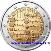 2 €uros Autriche 2005 (UNC Sortie de Rouleau)