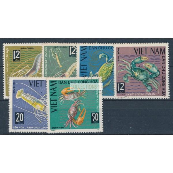 Vietnam - numéro 442 à 447 - oblitéré