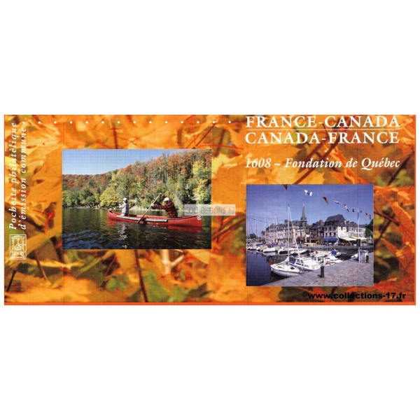 Emission Commune P 4182 - France - Canada - 2008