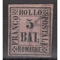 Italie - Romagne - numéro 6 - oblitéré