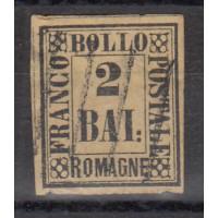 Italie - Romagne - numéro 3 - oblitéré