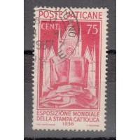 Italie - Vatican - numéro 76 - oblitéré
