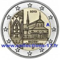 """2 €uros Allemagne 2013 """"A"""" (UNC Sortie de Rouleau)"""
