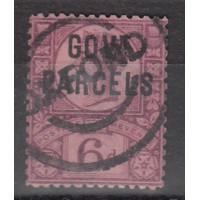 Grande Bretagne - Gout-Parcels - numéro 32 - oblitéré
