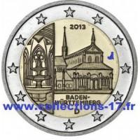 """2 €uros Allemagne 2013 """"J"""" (UNC Sortie de Rouleau)"""