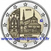 """2 €uros Allemagne 2013 """"G"""" (UNC Sortie de Rouleau)"""