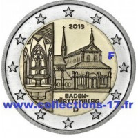 """2 €uros Allemagne 2013 """"F"""" (UNC Sortie de Rouleau)"""
