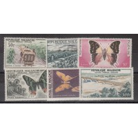 Madagascar - numéro PA 78/83 - neuf avec charnière