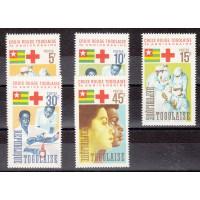 Togo - numéro 485/89 - neuf avec charnière