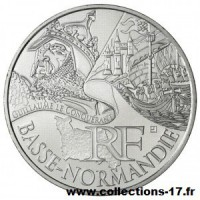 10 €uros France 2012 Basse Normandie