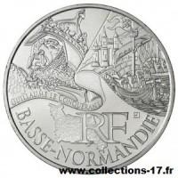 10 €uros France 2012 Basse Normandie