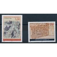 Andorre - numéro 508/9 - neuf sans charnière