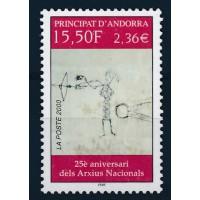 Andorre - numéro 539 - neuf sans charnière