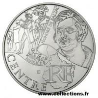 10 €uros France 2012 Centre