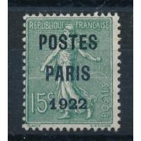 France - numéro P 31 - neuf sans gomme