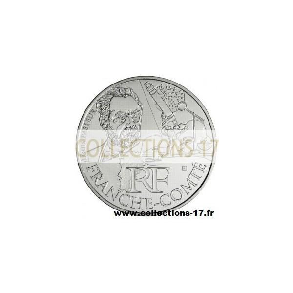 10 €uros France 2012 Franche-Comté