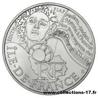 10 €uros France 2012 Ile de France