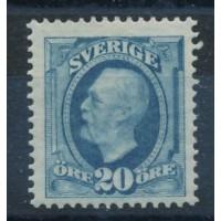 Suède - numéro 45 - neuf avec charnière