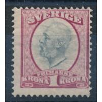 Suède - numéro 49a - neuf avec charnière