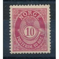 Norvège - numéro 50 - neuf avec charnière
