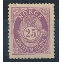 Norvège - numéro 53 - neuf avec charnière