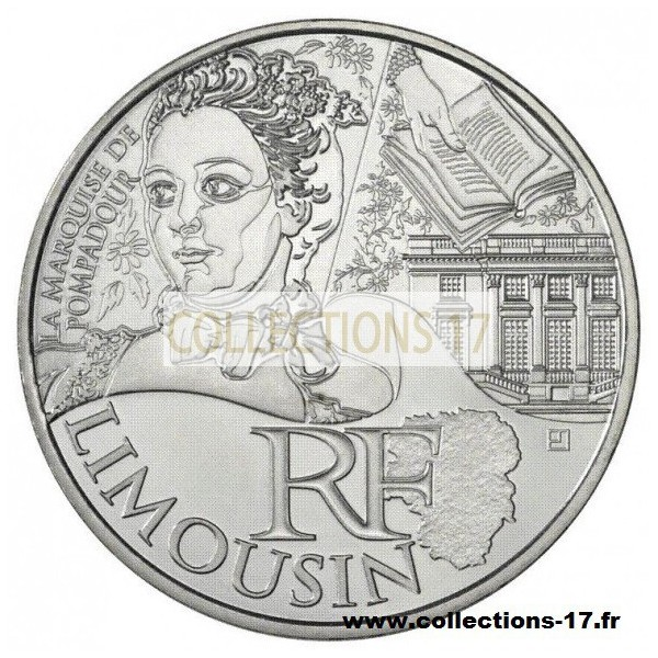 10 €uros France 2012 Limousin