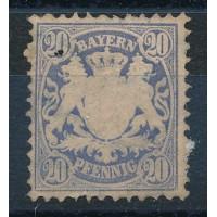 Allemagne - Bavière - numéro 42 - neuf avc charnière