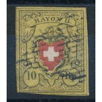 Suisse - numéro 15 - oblitéré