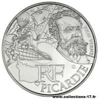 10 €uros France 2012 Picardie