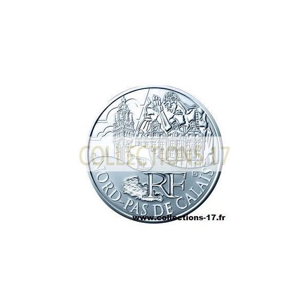 10 €uros France 2011 Nord Pas de Calais