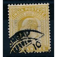 Inde, Anglaise - numéro 64 - oblitéré