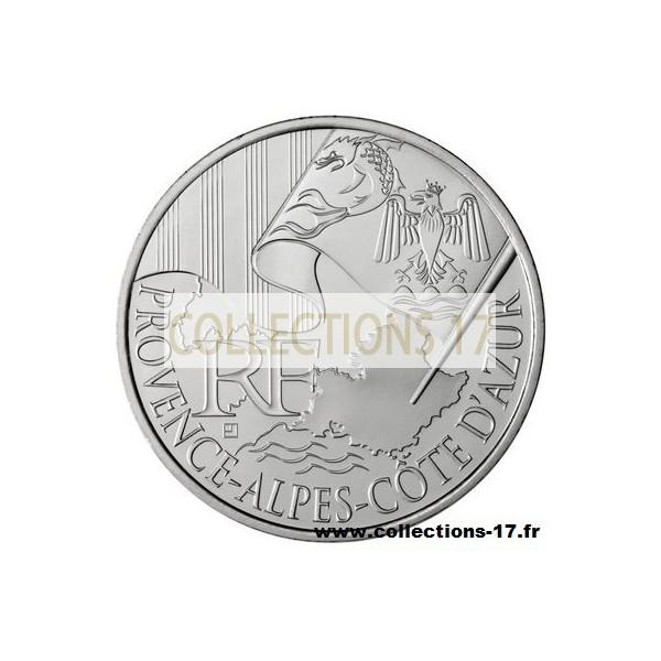 10 €uros France 2011 PACA