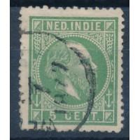 Inde, Neerlandaise - numéro 7 - oblitéré