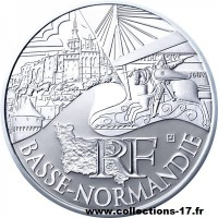 10 €uros France 2011 Basse Normandie