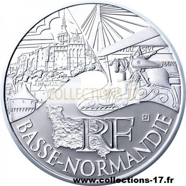 10 €uros France 2011 Basse Normandie
