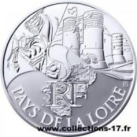 10 €uros France 2011 Pays de la Loire