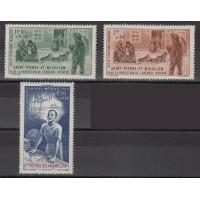 Saint Pierre et Miquelon - numéro PA 1/3 - neuf avec charnière