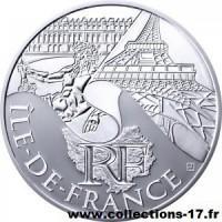 10 €uros France 2011 Ile de France