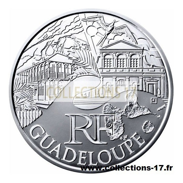 10 €uros France 2011 Guadeloupe